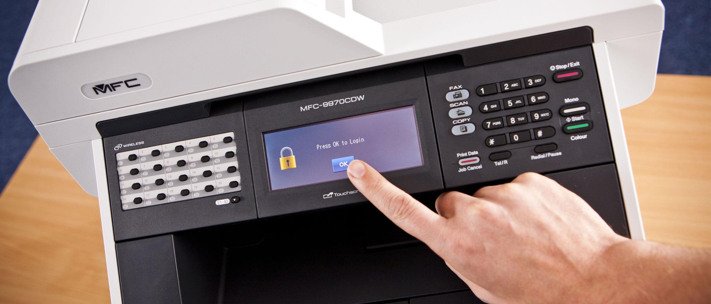 Secure Print Time Erase printer picture