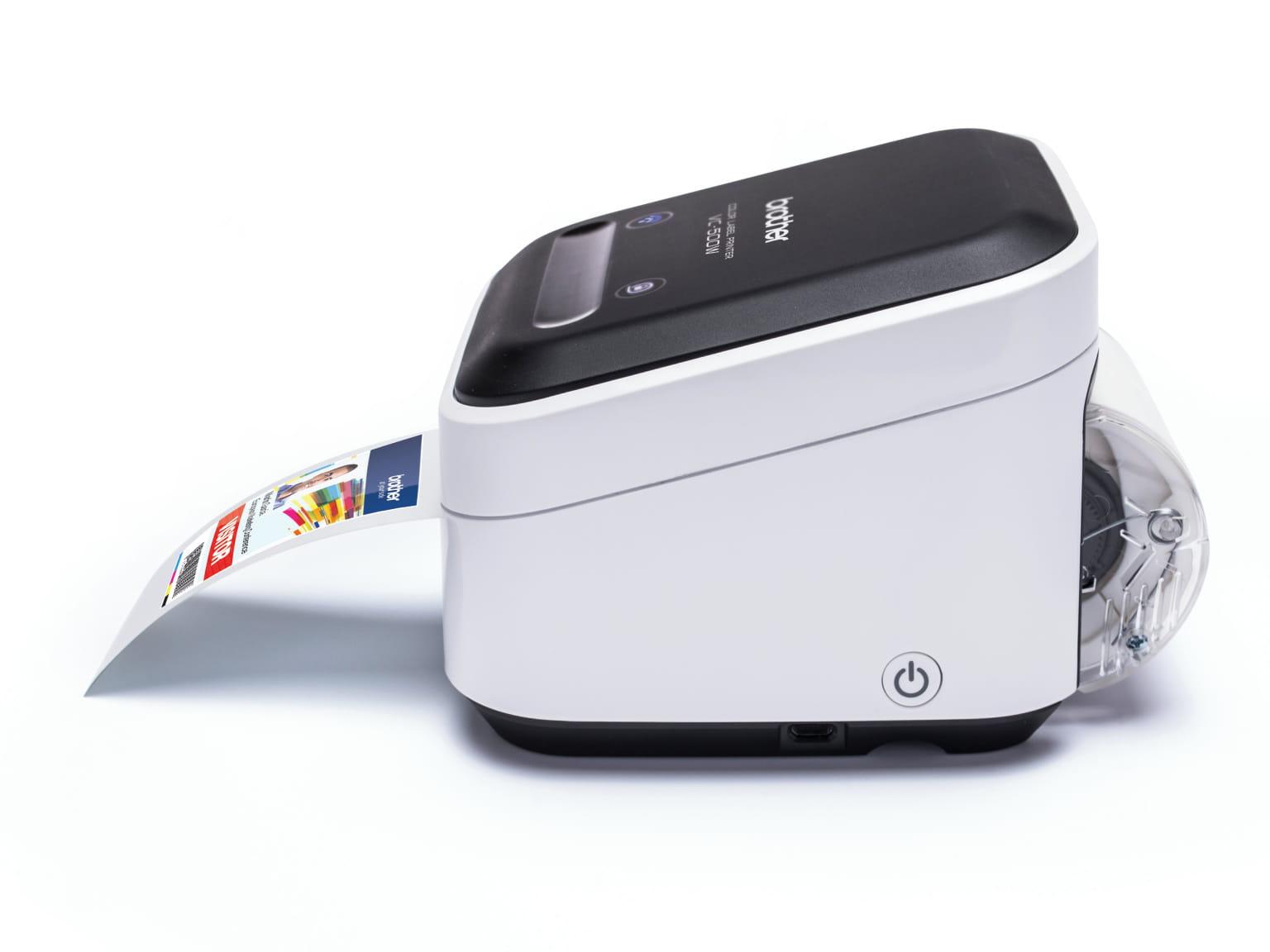 Imprimanta VC-500W fara cerneala imprima o eticheta foto