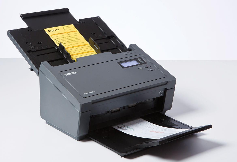 Scaner profesional PDS-6000 cu documente de scanat