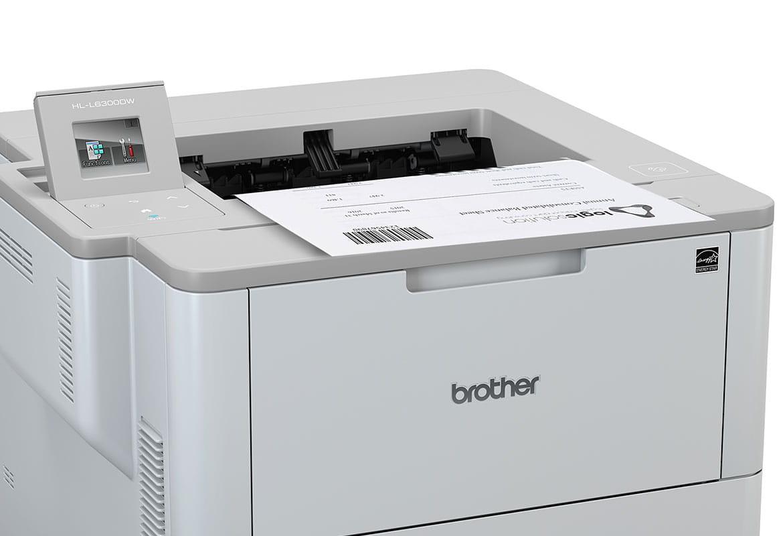 HL-L6300DW imprimand document cu coduri de bare