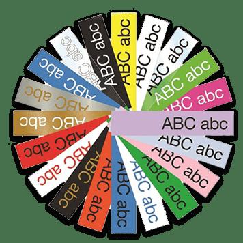 Exemple de etichete colorate - Brother