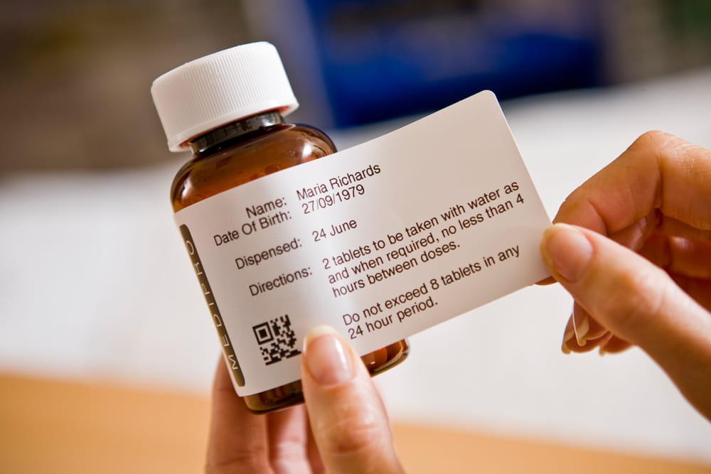 TD4 sticlă medicamente farmacie