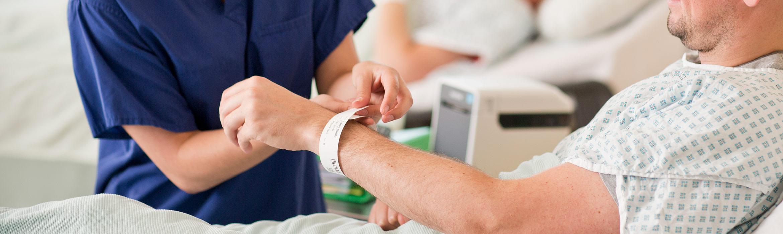 Brățară de identificare pacient