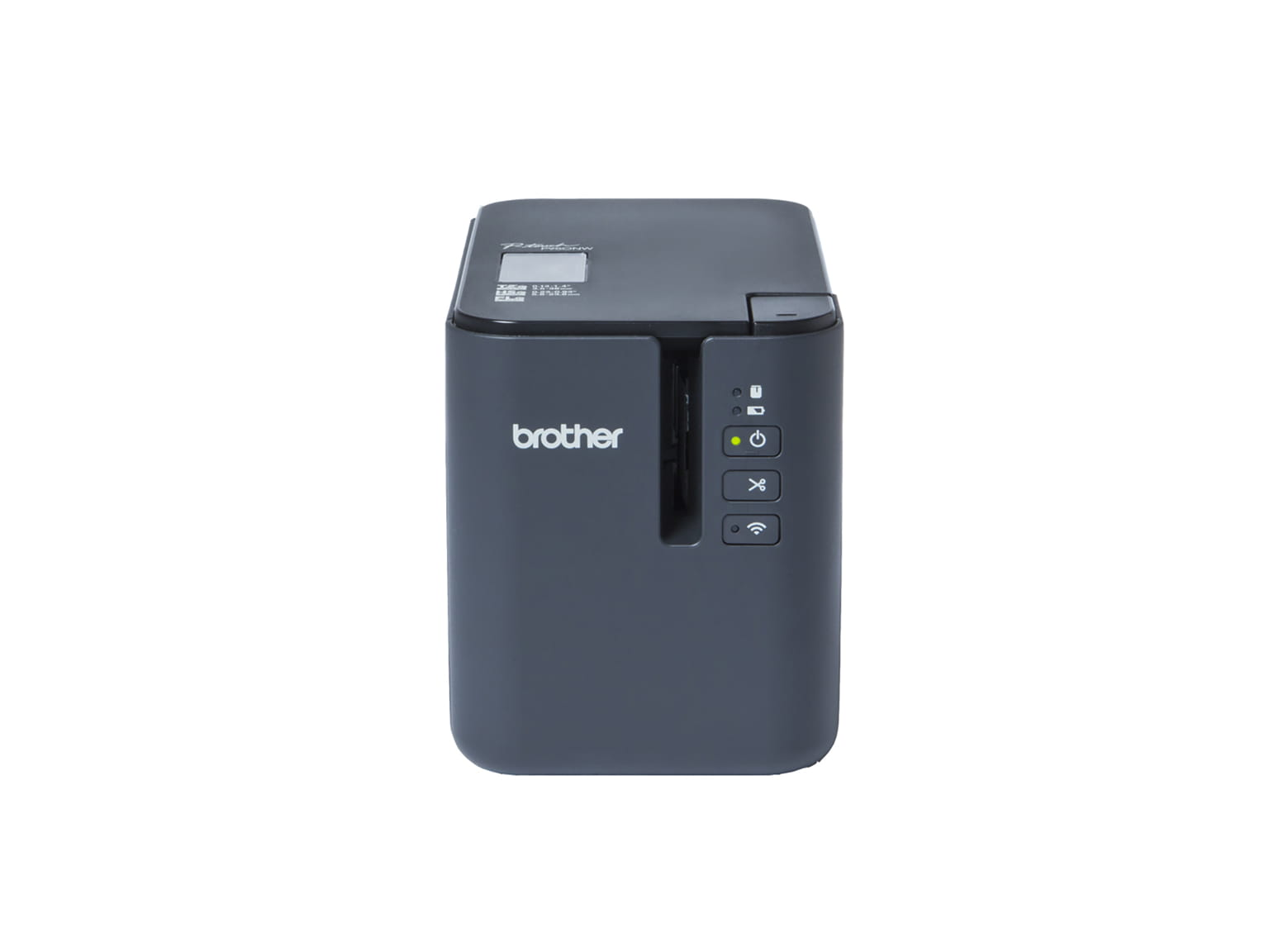 Imprimanta de eticheta Brother P-touch PT-P950NW cu USB, Wi-Fi si retea cablata. Etichete de pana la 36mm.