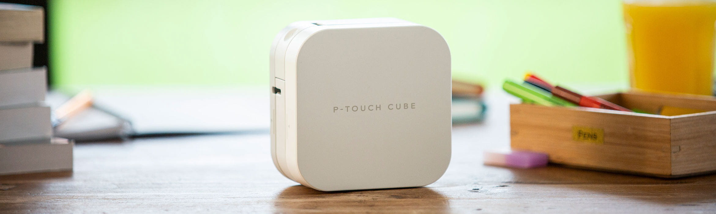 Pagina P-touch CUBE