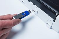 ADS-1200 scanare către USB