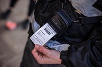 PACC002 carcasă de protecție folosită de un agent