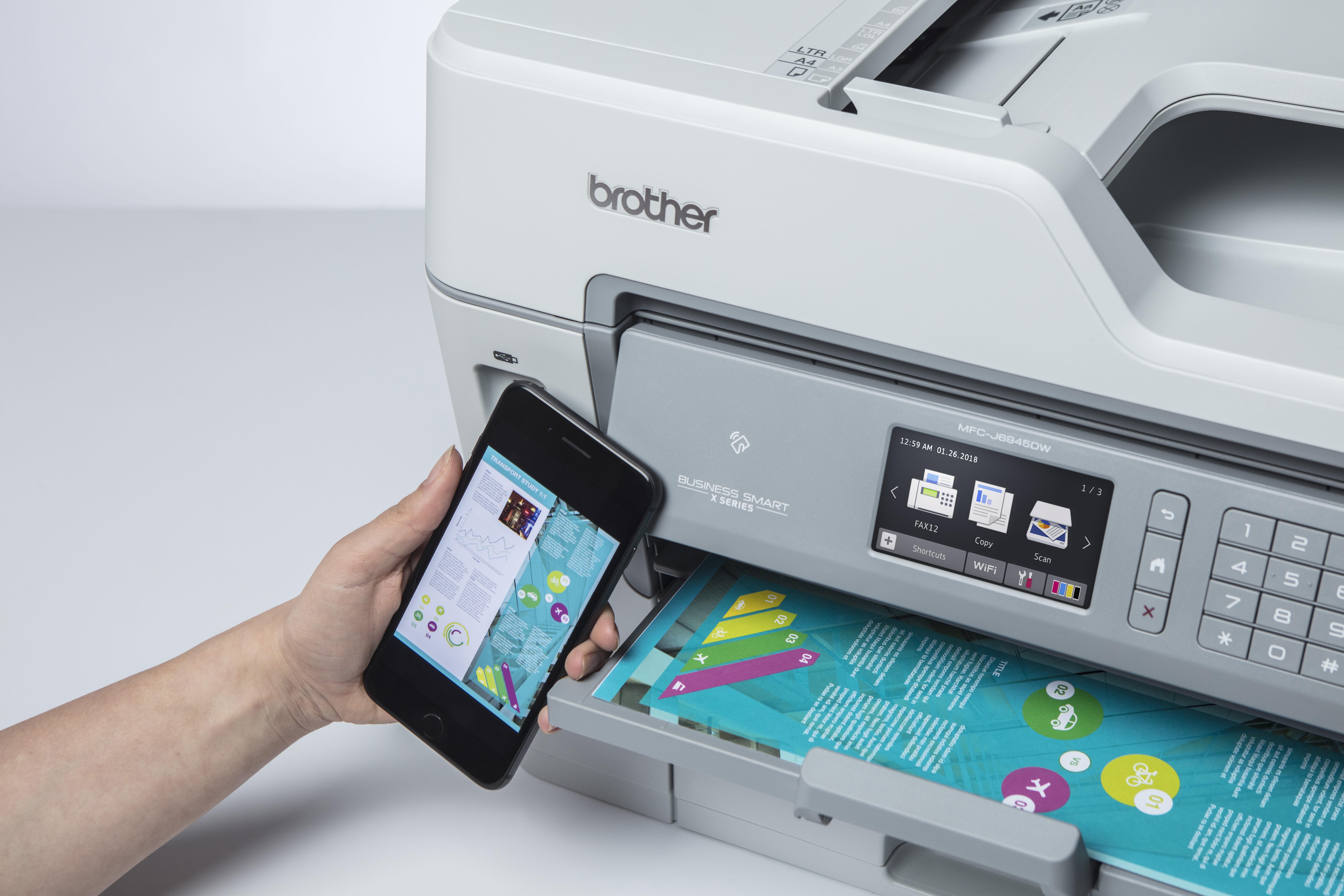 Brother MFC-J6945DW imprimare de pe mobil
