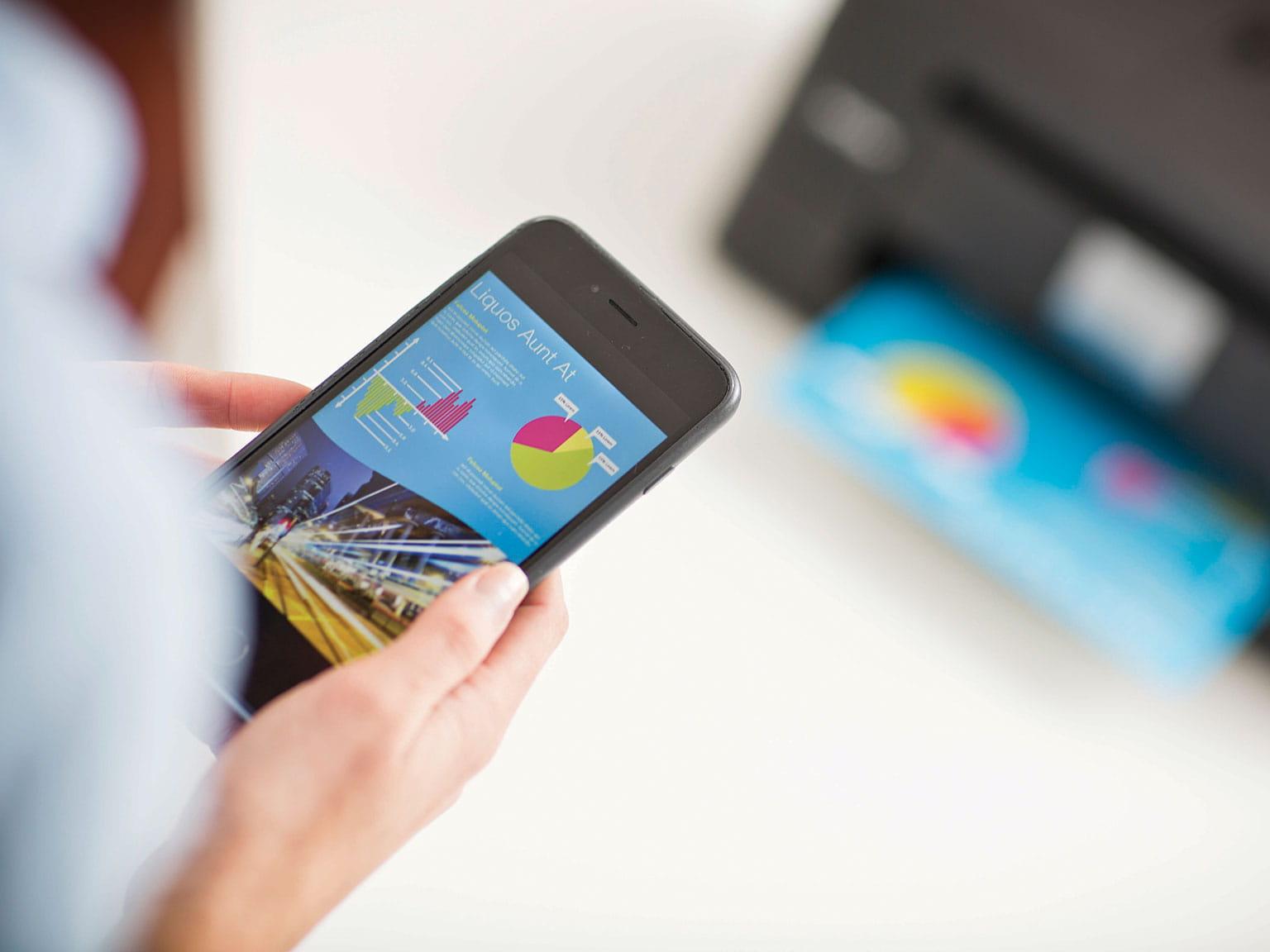 Soluții pentru companii mici iPrint&Scan
