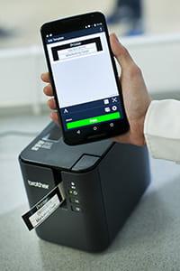 PT-D900W aplicație