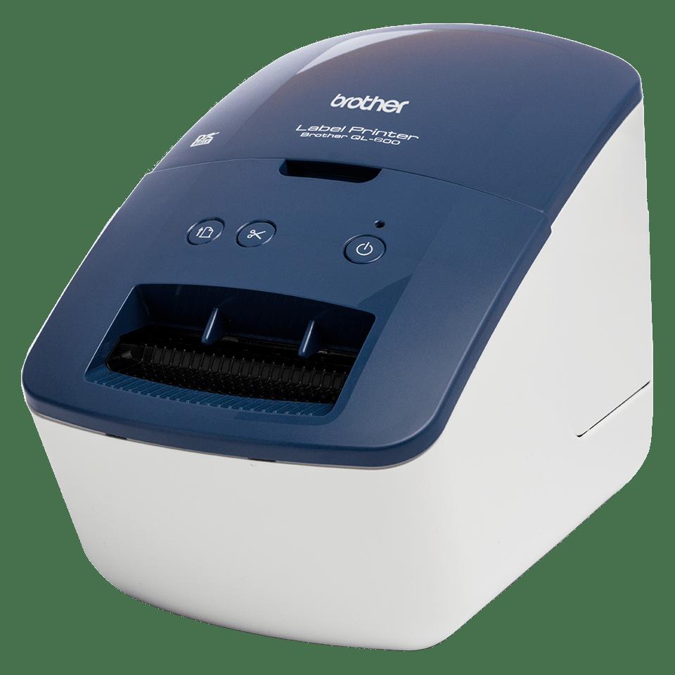 QL-600B imprimantă de etichete de livrări și adrese  2