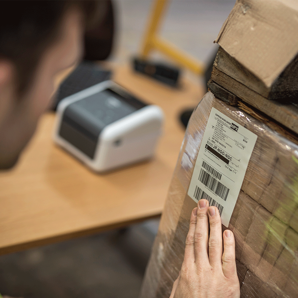 Imprimantă de etichete de birou cu rețea Brother TD-4420DN 5