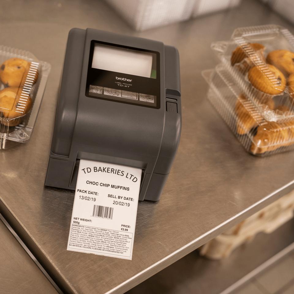 TD-4420TN imprimantă de etichete desktop cu transfer termic 8