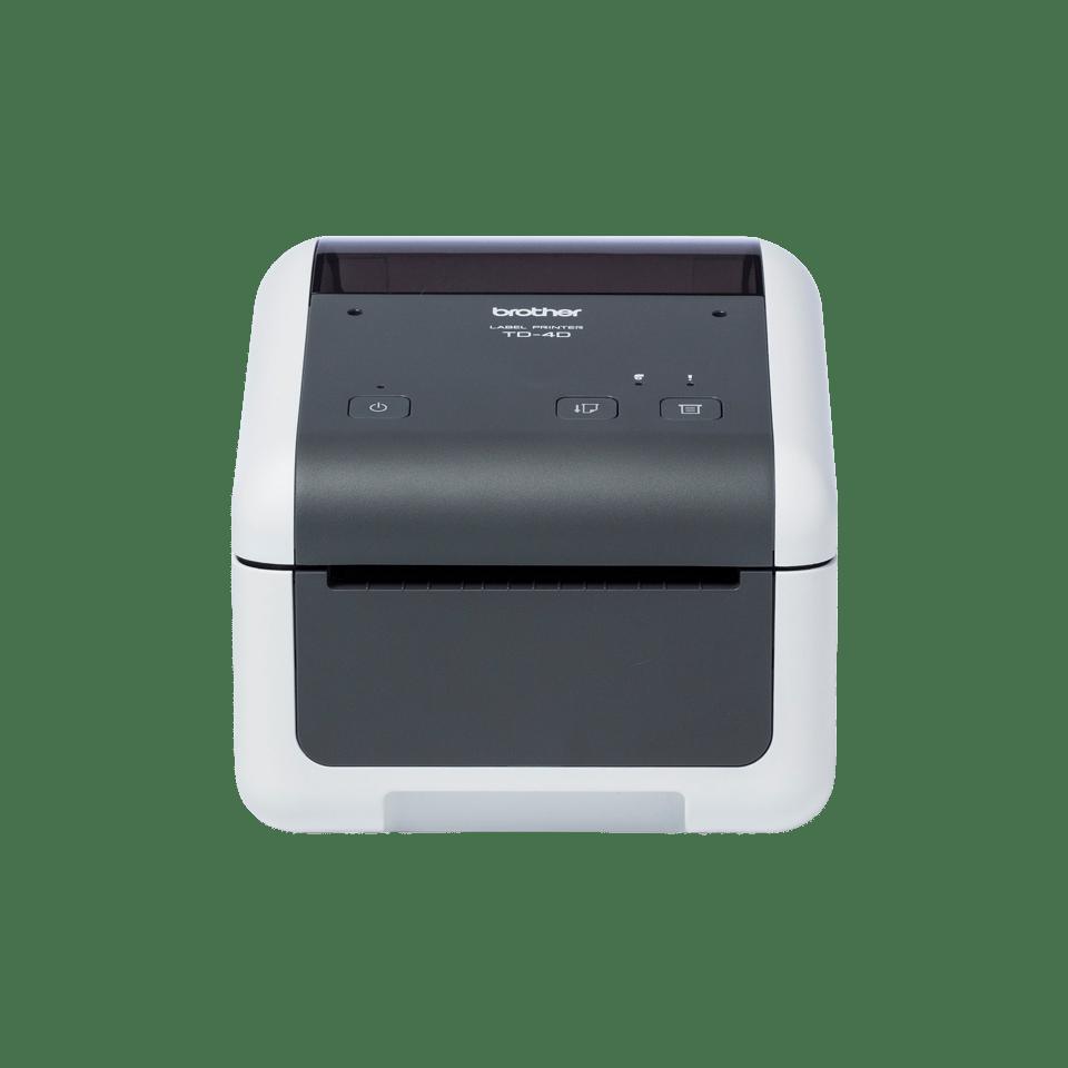Imprimanta de etichete Brother TD-4520DN din fata