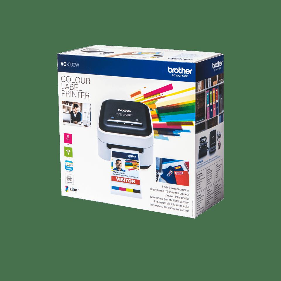 VC-500W Imprimantă de etichete color 4