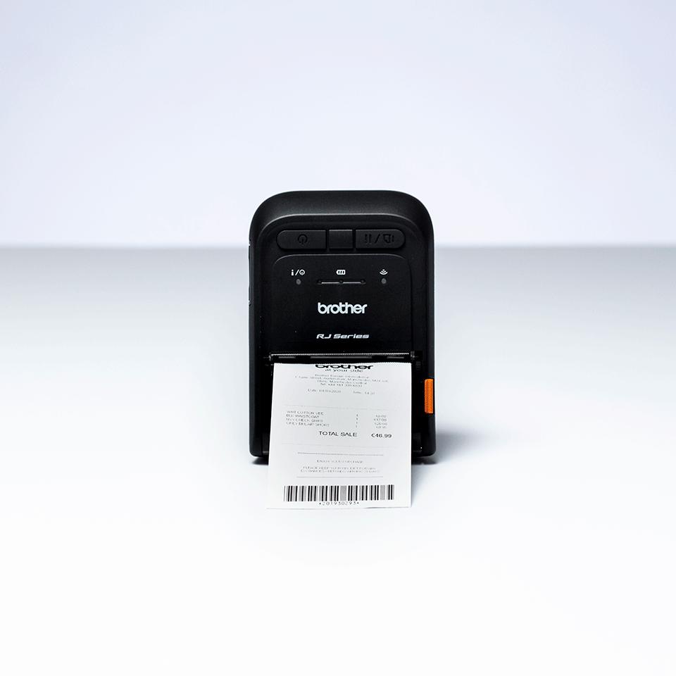 Imprimantă de chitanțe Brother RJ-2055WB 5