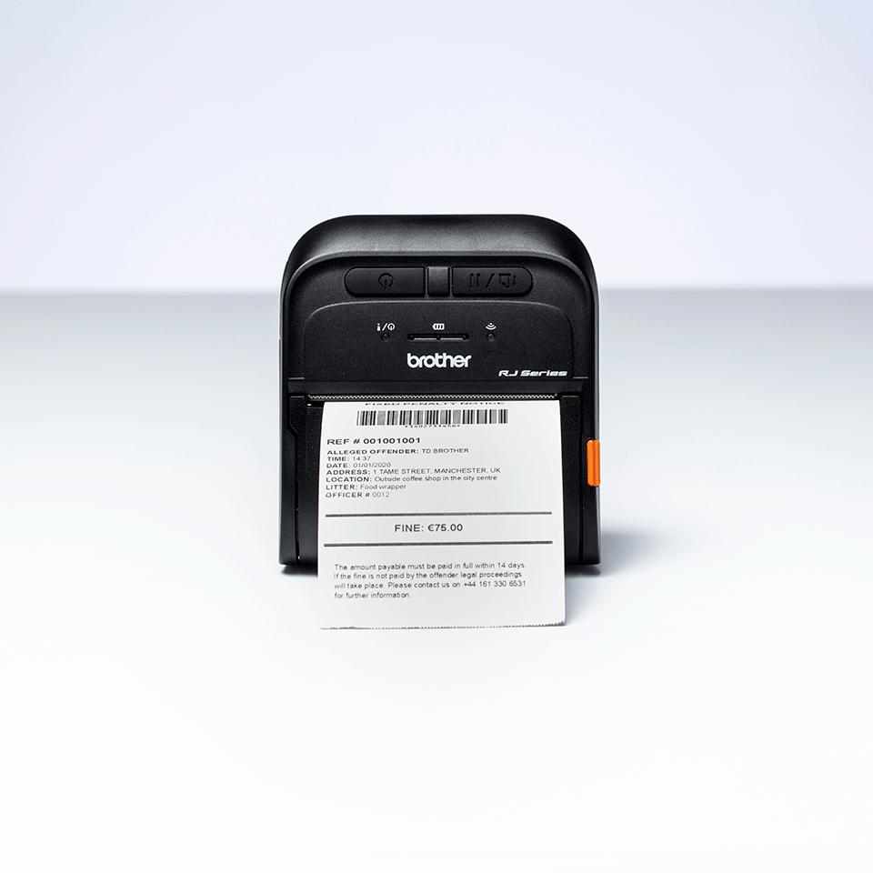 Imprimantă mobilă de chitanțe Brother RJ-3055WB 6