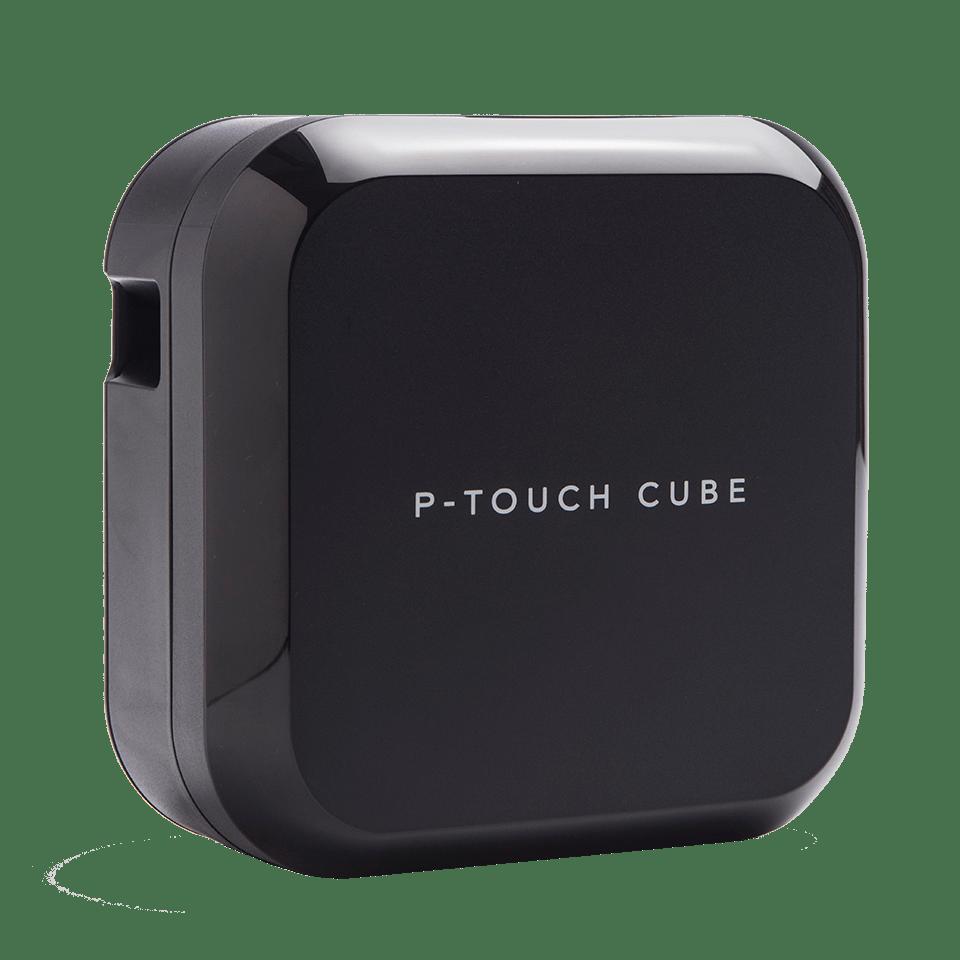 P-touch CUBE Plus imprimantă de etichete cu Bluetooth și acumulator