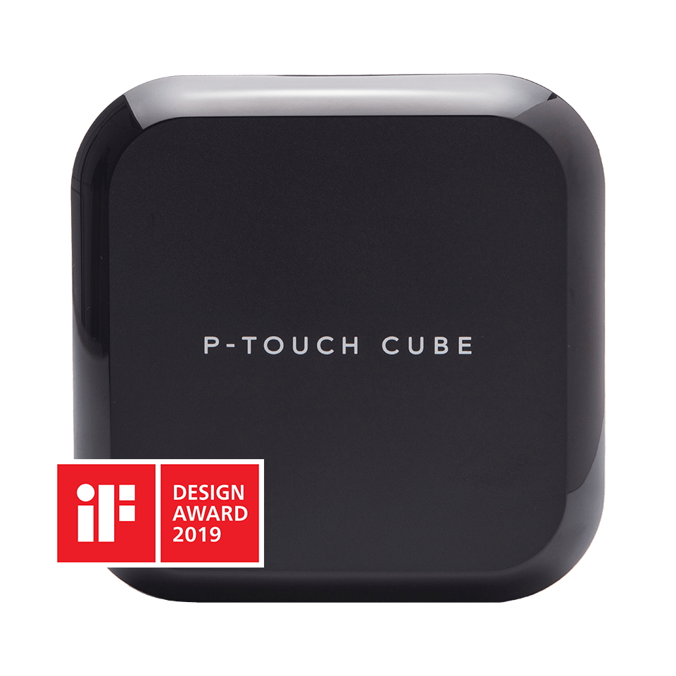 PTOUCHCUBEPLUS with if design award logo