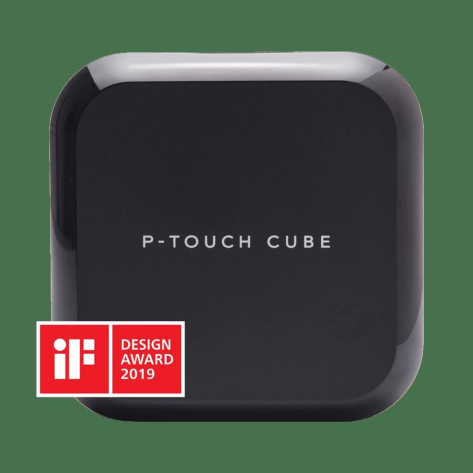 P-touch CUBE Plus imprimantă de etichete cu Bluetooth și acumulator 2
