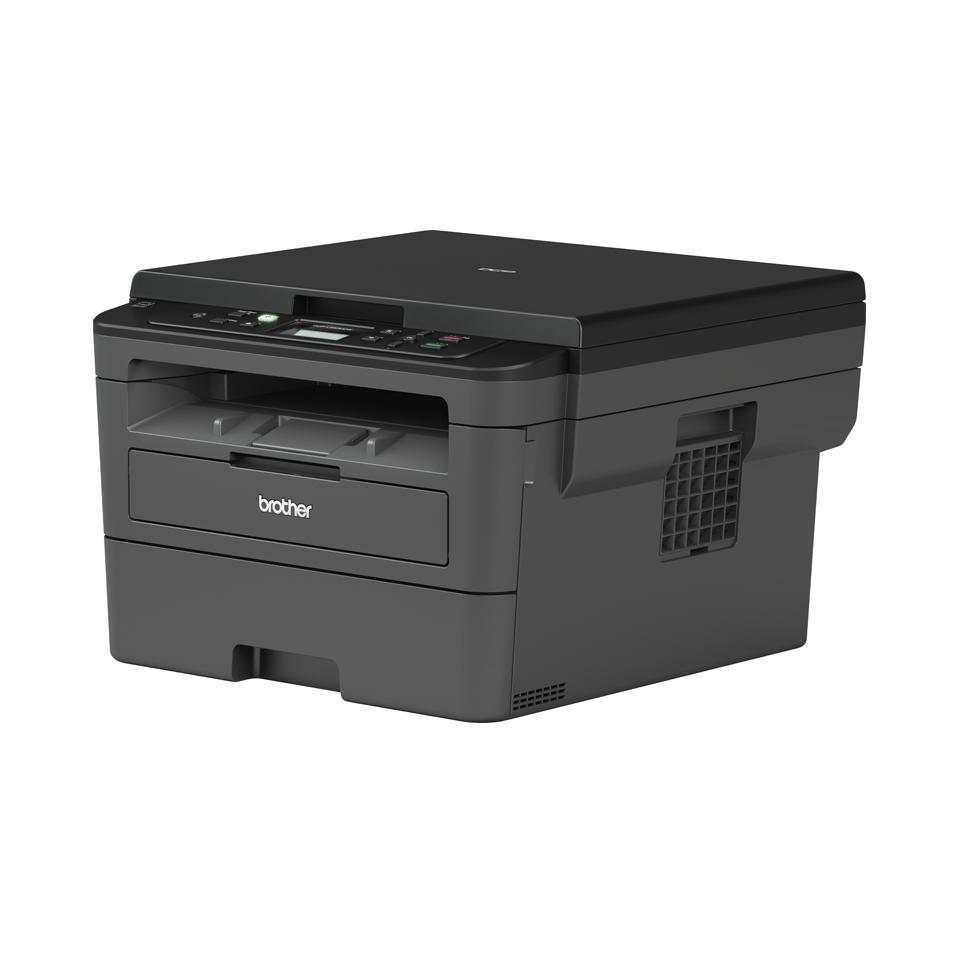 Imprimantă laser mono 3-în-1 compactă cu wireless - Brother DCP-L2532DW