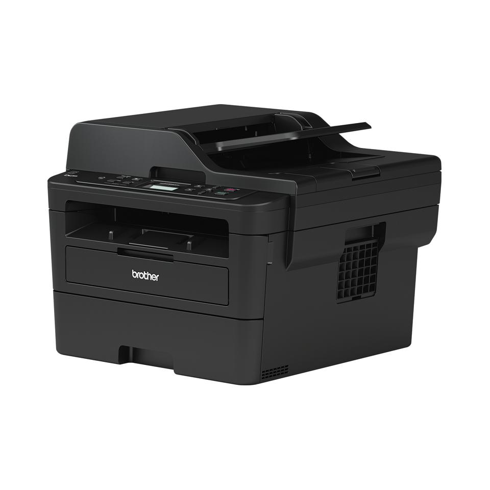 DCP-L2552DN  imprimantă compactă laser mono 3-în-1 cu rețea 2