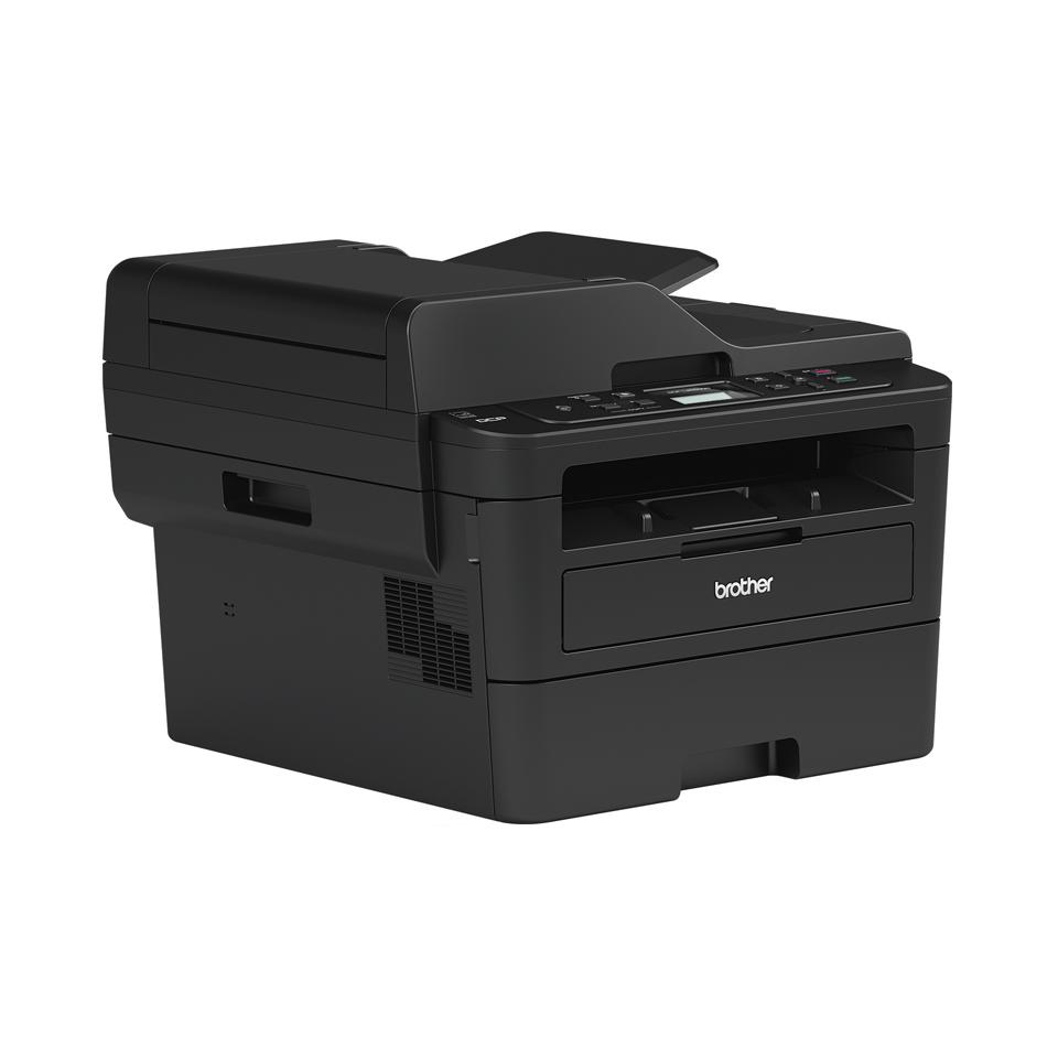 DCP-L2552DN  imprimantă compactă laser mono 3-în-1 cu rețea 3