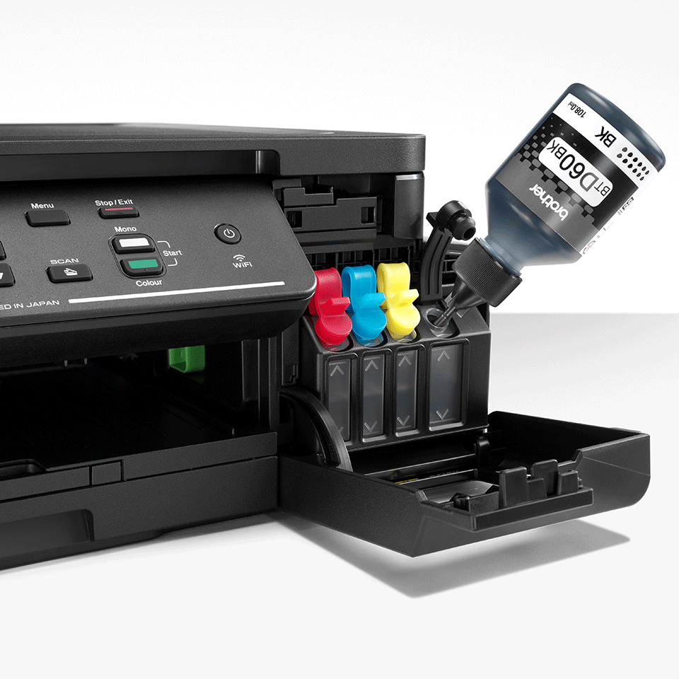 Multifuncțional 3-în-1 wireless cu cerneală DCP-T510W de la Brother  5