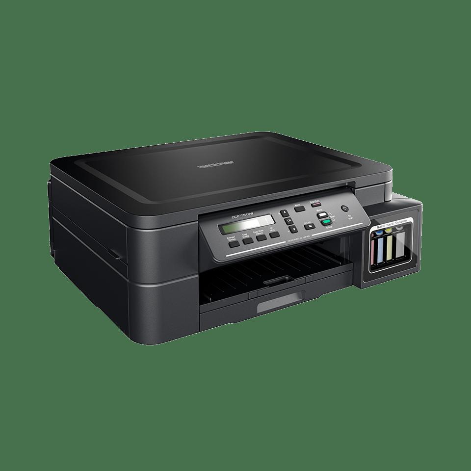 Multifuncțional 3-în-1 wireless cu cerneală DCP-T510W de la Brother  2