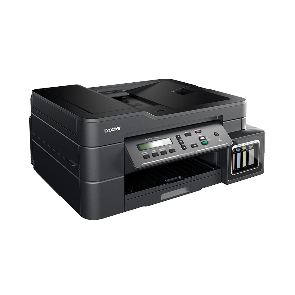 Imprimantă cu cerneală 3-în-1 cu wireless DCP-T710W de la Brother  2