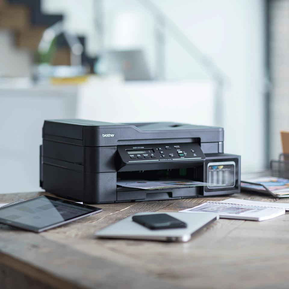 Imprimantă cu cerneală 3-în-1 cu wireless DCP-T710W de la Brother  3