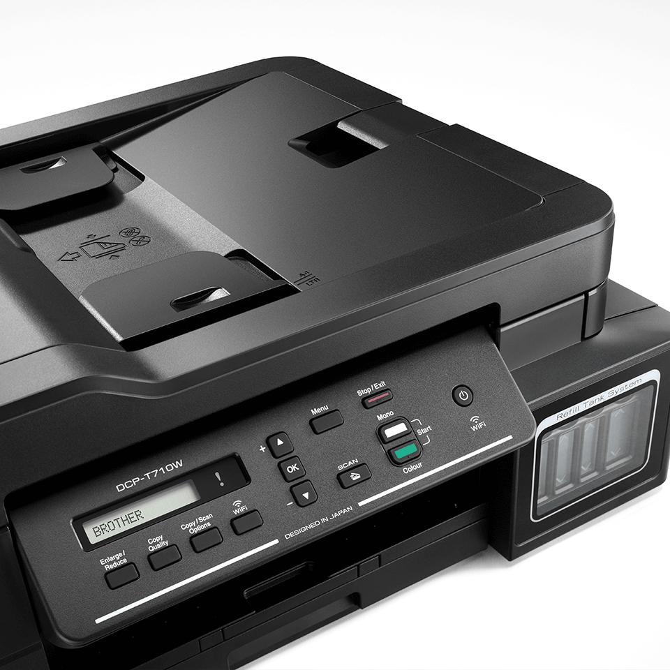 DCP-T710W de la Brother Imprimantă cu cerneală 3-în-1 cu wireless  4