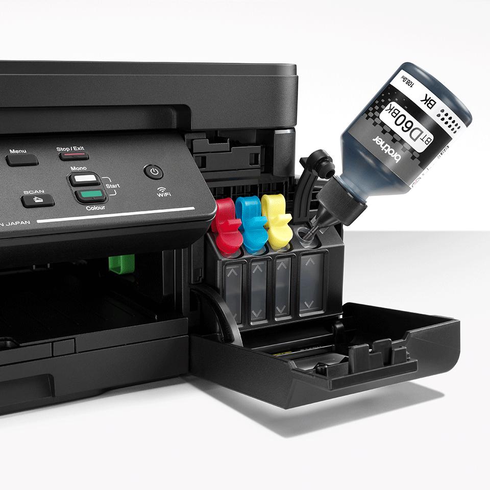 DCP-T710W de la Brother Imprimantă cu cerneală 3-în-1 cu wireless  5