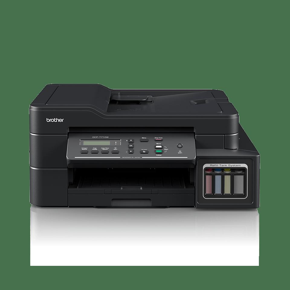 Imprimantă cu cerneală 3-în-1 cu wireless DCP-T710W de la Brother