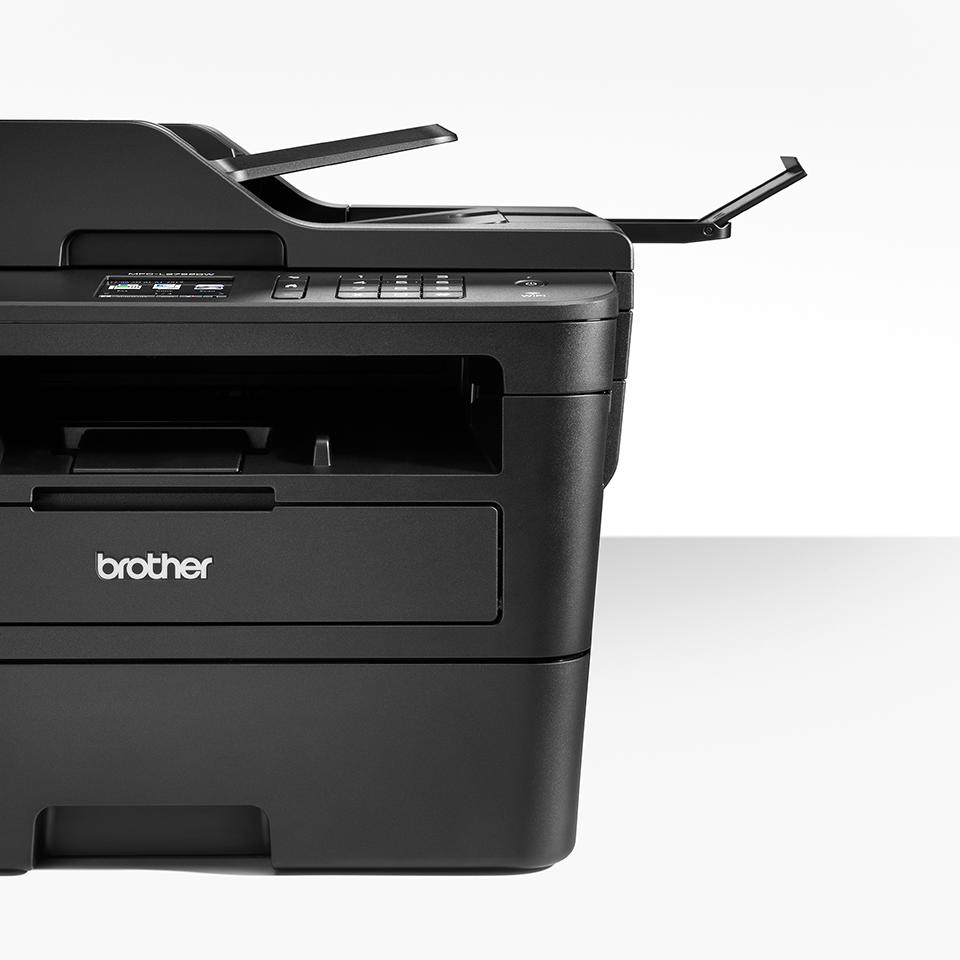 Imprimantă multifuncțională 4-în-1 laser mono MFC-L2752DW compactă cu rețea wireless & cu fir 4