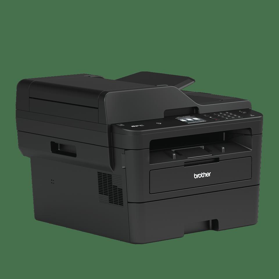 Imprimantă multifuncțională 4-în-1 laser mono MFC-L2752DW compactă cu rețea wireless & cu fir 3