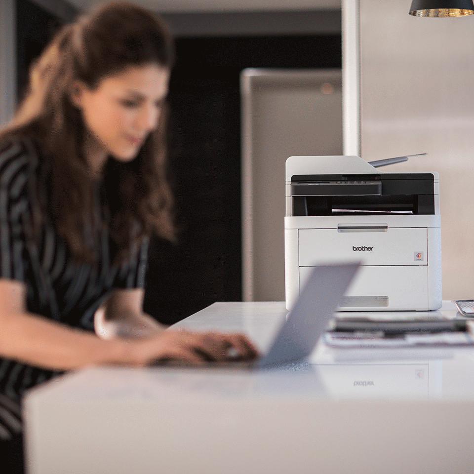 MFC-L3730CDN Imprimantă multifuncțională 4-în-1 LED color cu rețea 4
