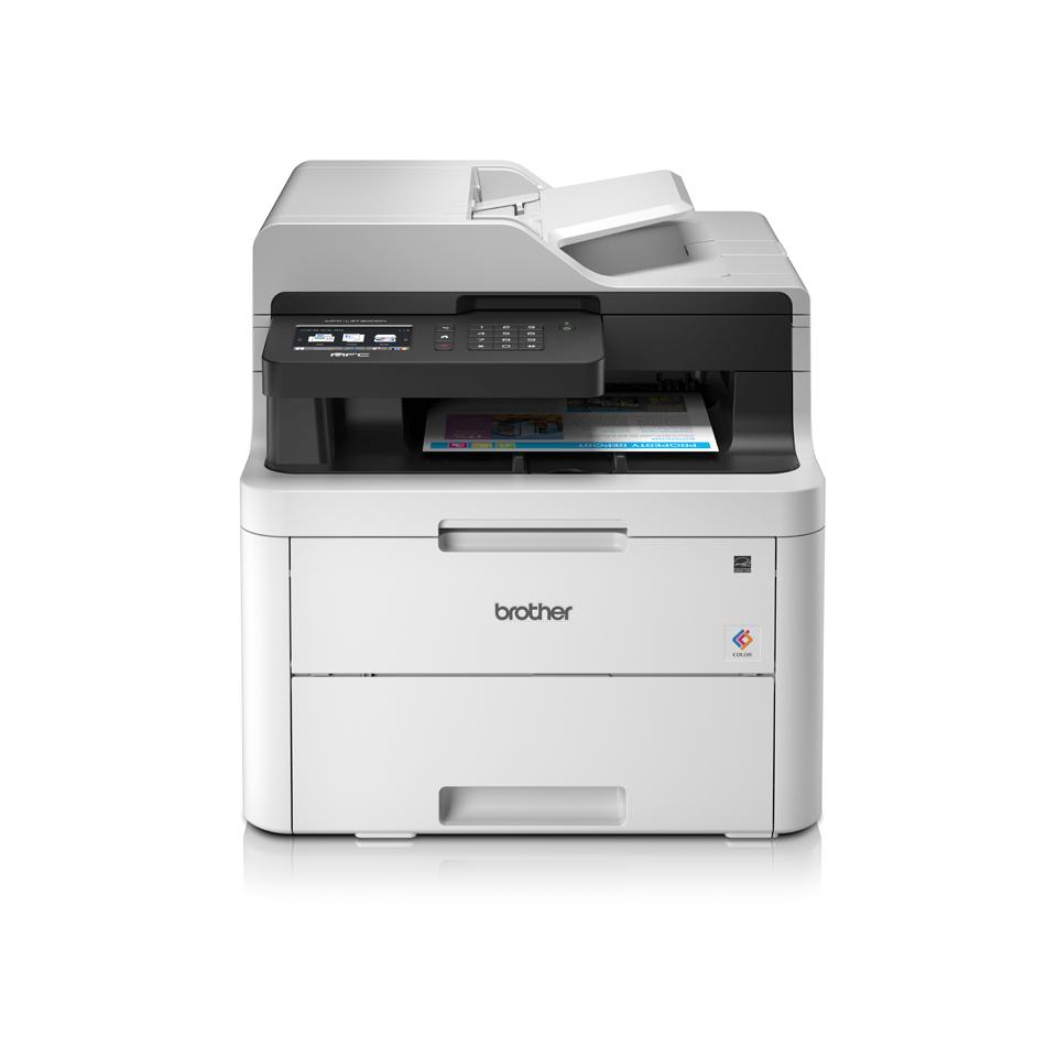MFC-L3730CDN Imprimantă multifuncțională 4-în-1 LED color cu rețea