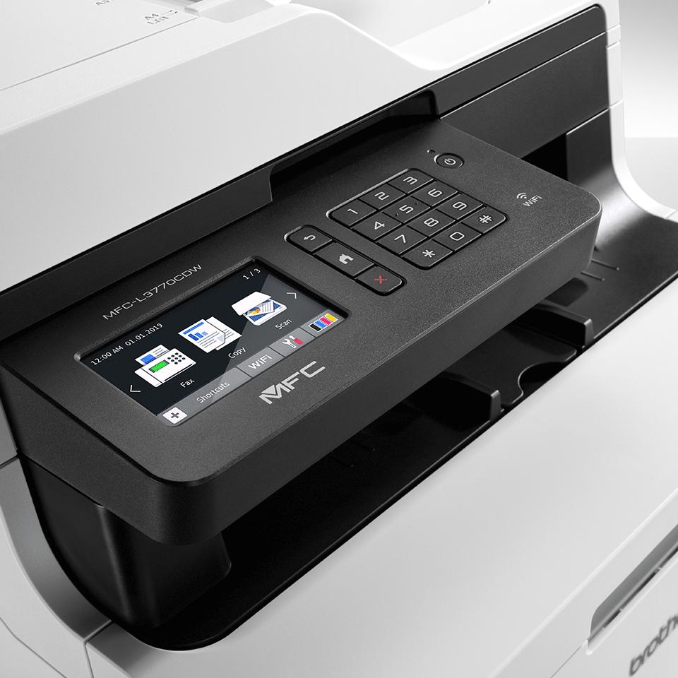 Imprimantă multifuncțională 4-în-1 LED color cu wireless MFC-L3770CDW 4