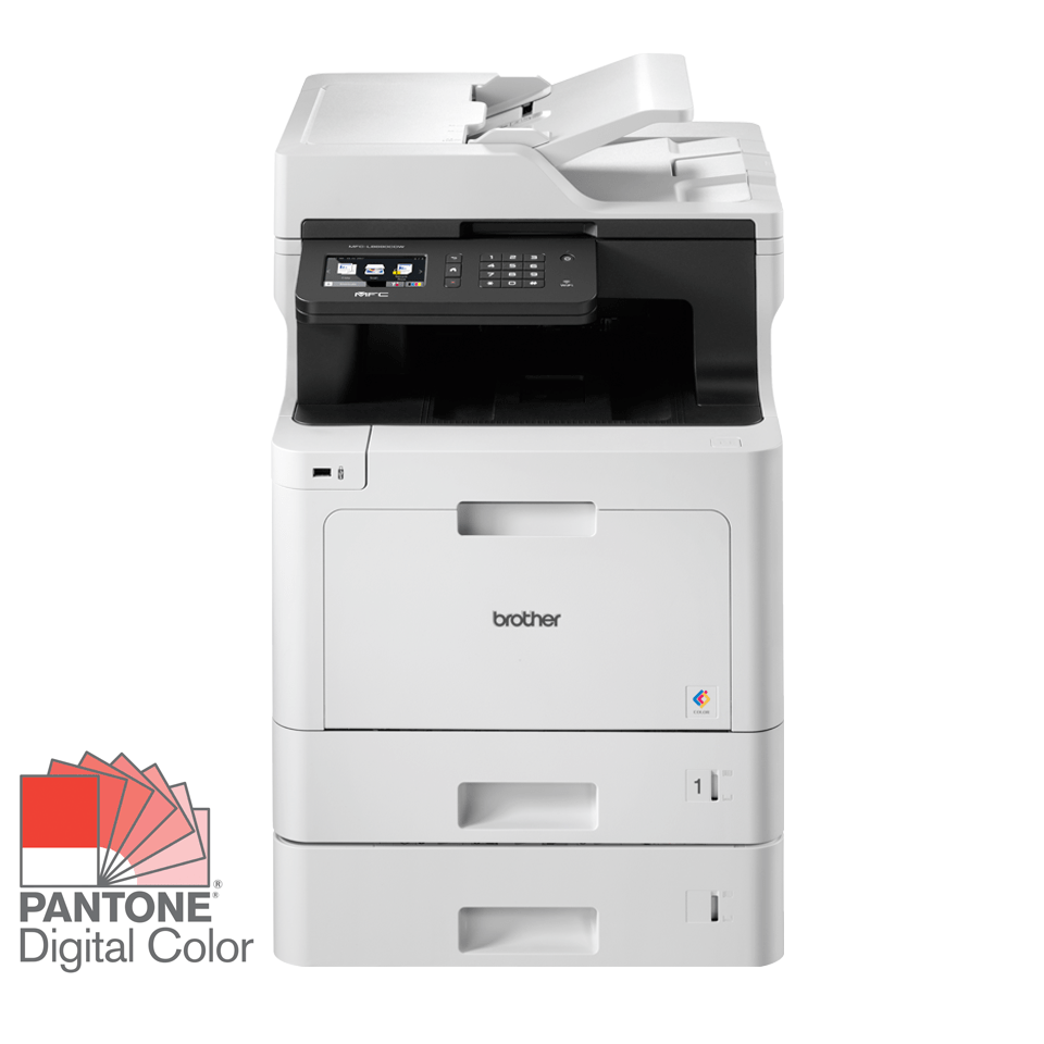 Brother MFC-L8690CDWT Professional Colour, Duplex, Wireless Laser All-in-one Printer + 250 Sheet Paper Tray 2
