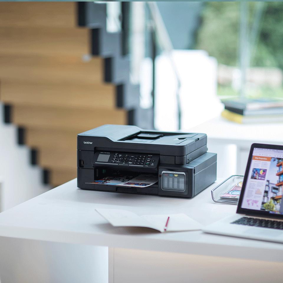 Imprimantă inkjet 4-în-1 cu wireless MFC-T910DW InkBenefit Plus de la Brother  4