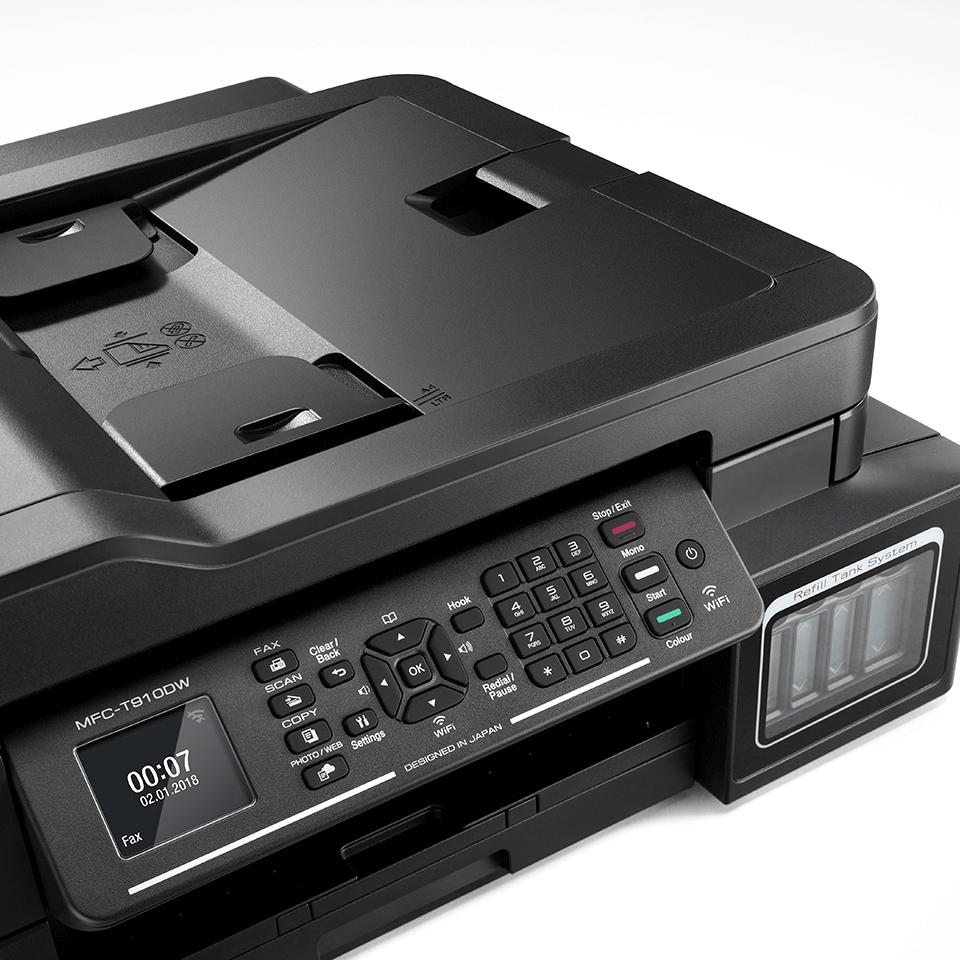 MFC-T910DW InkBenefit Plus de la Brother  Imprimantă inkjet 4-în-1 cu wireless 5