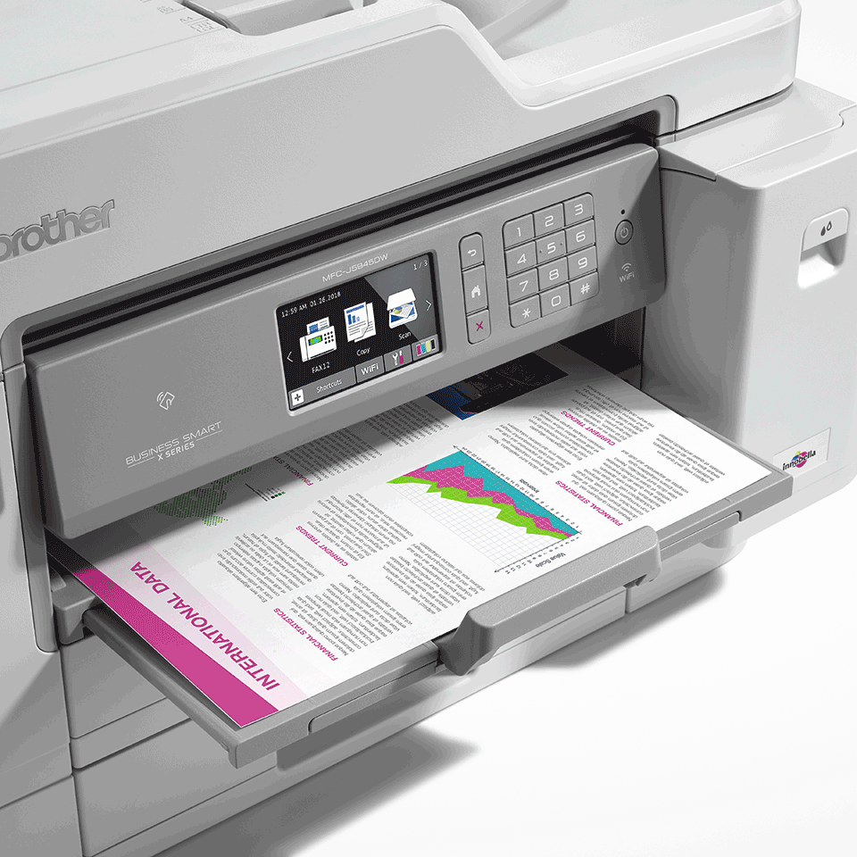 MFC-J5945DW Imprimantă 4-în-1 inkjet A3 color wireless 5