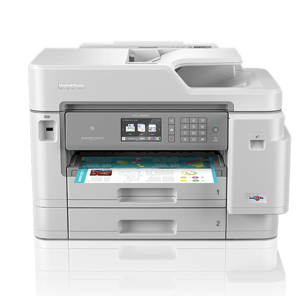 Imprimantă 4-în-1 inkjet A3 color wireless MFC-J5945DW