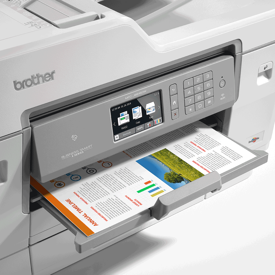 MFC-J6945DW Imprimantă 4-în-1 inkjet color wireless 6