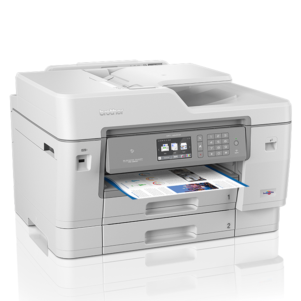 MFC-J6945DW Imprimantă 4-în-1 inkjet color wireless 3