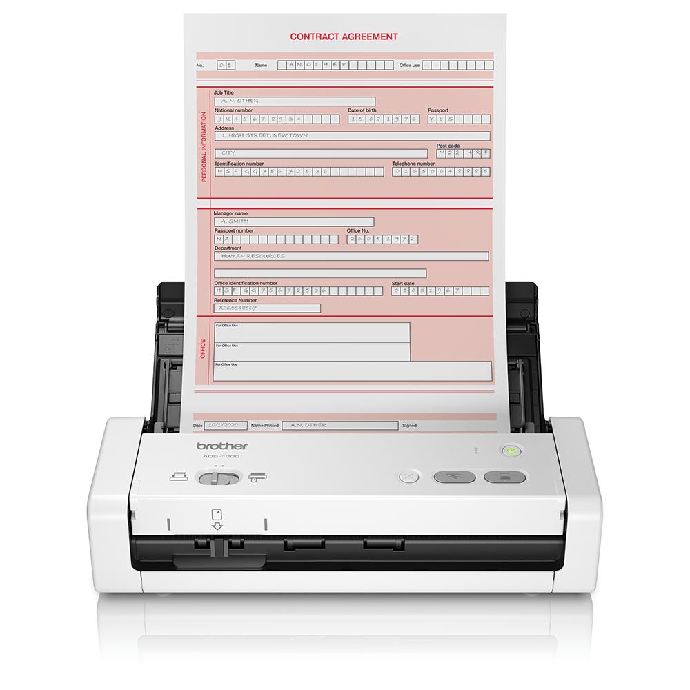 ADS-1200 Scaner de documente compact și portabil