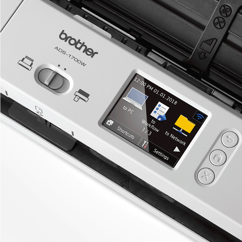 Scaner de documente compact ADS-1700W 8