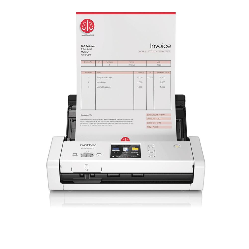 Scaner de documente compact ADS-1700W