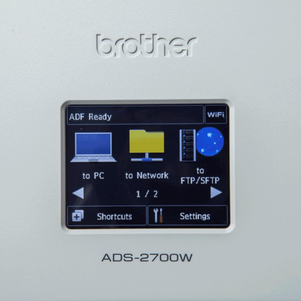 Scanner de documente wireless Brother ADS-2700W 7